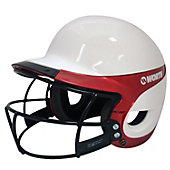 Worth Liberty Home Fastpitch Batting Helmet with Mask