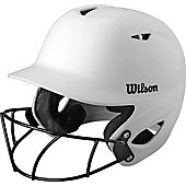 Wilson Collegiate 2.0 Batting Helmet with Softball Facemask