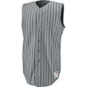 Wilson Adult Pro Sleeveless Pinstripe Baseball Jersey