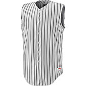 Wilson Youth Pro Sleeveless Pinstripe Baseball Jersey