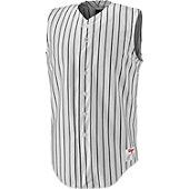 Wilson Youth Pro Sleeveless Pinstripe Baseball Jersey
