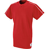 Wilson Adult Polyester Pique One Button Placket Jersey