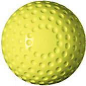 Atec Tuffy Dimpled SuperSoft Baseballs - Optic Yellow (Dozen)