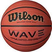 "Wilson Men's Wave Solution Official Game Basketball (29.5"")"