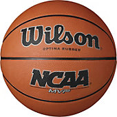 "Wilson Men's NCAA MVP Rubber Basketball (29.5"")"