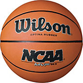 "Wilson Intermediate NCAA MVP Rubber Basketball (28.5"")"