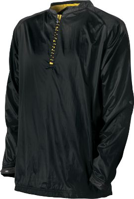 DeMarini Mens Pyro Long Sleeve Batting Practice Jacket