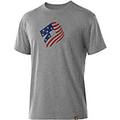 DeMarini Men's 'Merica Graphic Tech T-Shirt