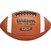 Wilson GST Leather Blem Football