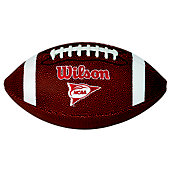 Wilson NCAA Red Zone Junior Composite Football