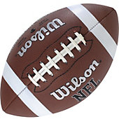 Wilson NFL Official Junior Tackified Synthetic Leather Football