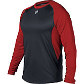 DeMarini Men's Long Sleeved Performance Baseball Team Shirt