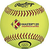 "Rawlings 12"" ASA K Master 120 Fastpitch Softball (Dozen)"