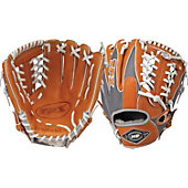 "Louisville HD9 Series Grey/Orange 11.5"" Baseball Glove"