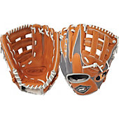 "Louisville HD9 Series Grey/Orange 11.75"" Baseball Glove"