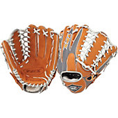 "Louisville HD9 Series Grey/Orange 12.75"" Baseball Glove"