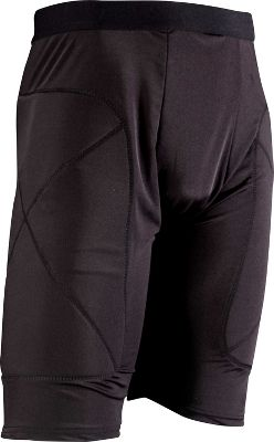 Team Express Gear Adult Black Padded Sliding Shorts