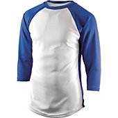 Team Express Gear Adult Pro Plus Royal 3/4 Sleeve Shirt