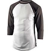 Team Express Gear Youth Pro Plus Black 3/4 Sleeve Shirt