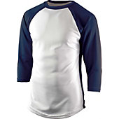 Team Express Gear Youth Pro Plus Navy 3/4 Sleeve Shirt