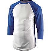 Team Express Gear Youth Pro Plus Royal 3/4 Sleeve Shirt