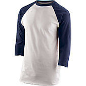 Team Express Gear Youth Navy 3/4 Sleeve Shirt