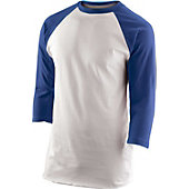 Team Express Gear Youth Royal 3/4 Sleeve Shirt