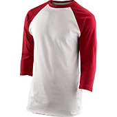 Team Express Gear Youth Scarlet 3/4 Sleeve Shirt