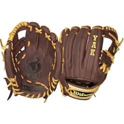 Wilson Pro Soft Yak Series 11 middle infielder baseball glove