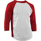 Rawlings Youth Cool Flo 3/4 Sleeve Baseball Jersey