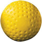 Baseball Express Yellow Dimple Baseball (Dozen)
