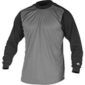 Rawlings Youth Long Sleeve Mock Shirt
