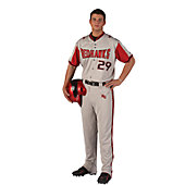 "Rawlings Youth Custom Full-Button Front 4-Color Jersey with 1"" Rib Trim"