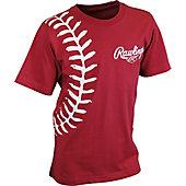 Rawlings Youth Baseball Stitch T-Shirt