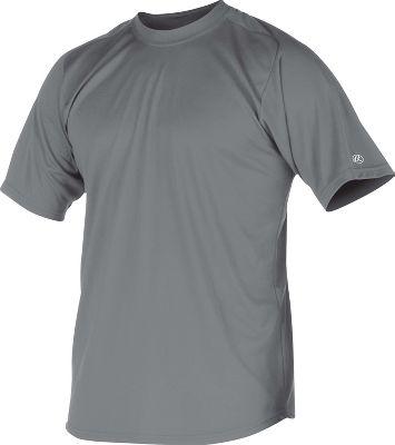 Rawlings Youth Crew Microfiber Short Sleeve Shirt