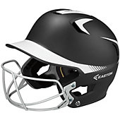 Easton Z5 Grip Two-Tone Batting Helmet with Baseball Facemas