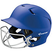 Easton Z5 Grip Solid Batting Helmet with Baseball Facemask