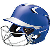 Easton Z5 Two-Tone Batting Helmet with Baseball Facemask