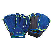 "Easton Z-Flex Series 10"" Royal Youth Baseball Glove"
