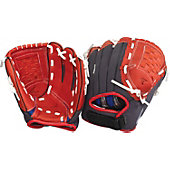 "Easton Z-Flex Series 10"" Scarlet Youth Baseball Glove"