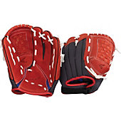 "Easton Z-Flex Series 11"" Scarlet Youth Baseball Glove"