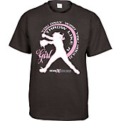 "Team Express Gear Youth ""Throw Like A Girl"" T-Shirt"