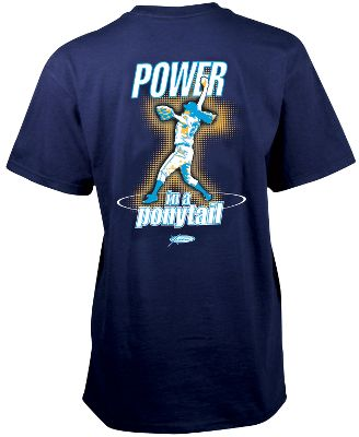 Team Express Gear Womens Ponytail Fastpitch T Shirt