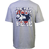 "Football America Youth ""Pain Starts Here"" T-Shirt"