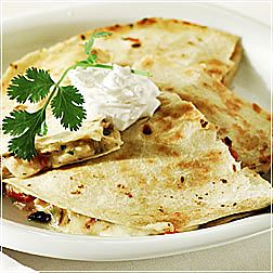 Chicken and Vegetable Quesadillas