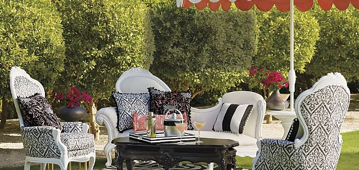Donatella Outdoor Furniture Collections Grid Top Espot