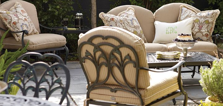 Frontgate Villette Outdoor Furniture Collection Patio