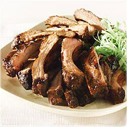 Spiced Honey-Glazed Pork Ribs