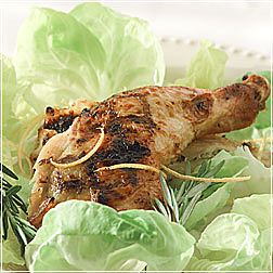 Barbecued Butterflied Chicken