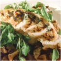Watercress Salad with Barbecued Chicken Breast